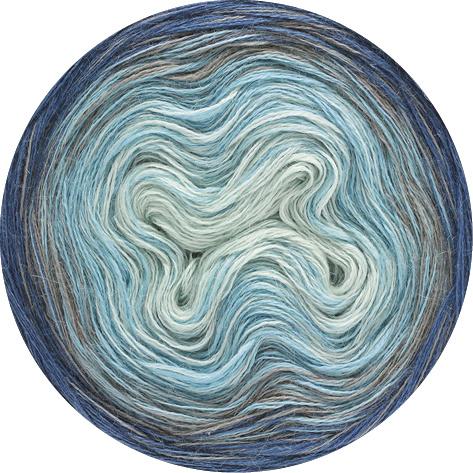 LanaGrossa Shades Of Alpaca Silk - 303 - Blauw