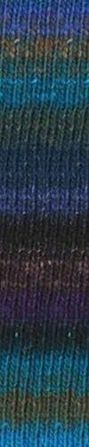 Noro Silk Garden Sock - 396 - Blues/Black
