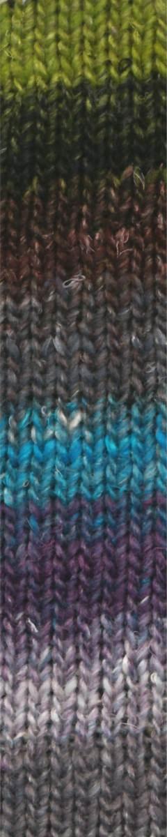 Noro Silk Garden Sock - 272 - Grey/Lime/Bro