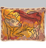 Ehrman Bull cushion front