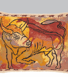 Bull cushion front