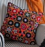 Ehrman Suzani: Black & Orange