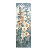 Ehrman Hollyhocks Panel