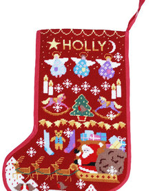 Red Santa Stocking