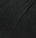 Lang Yarns Baby Cotton - 004  - zwart