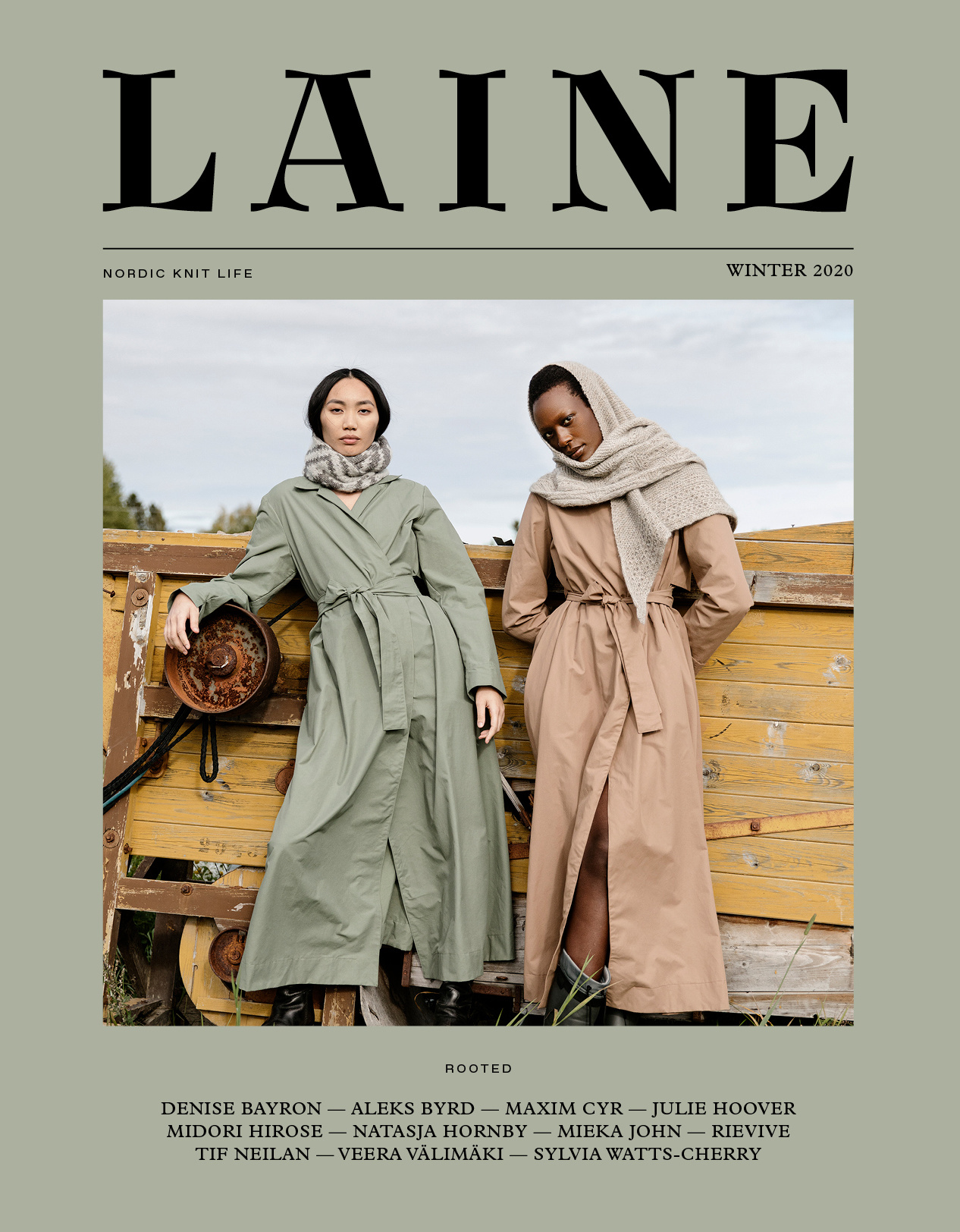 Nordic Knit Life Laine Issue 10 - Rooted
