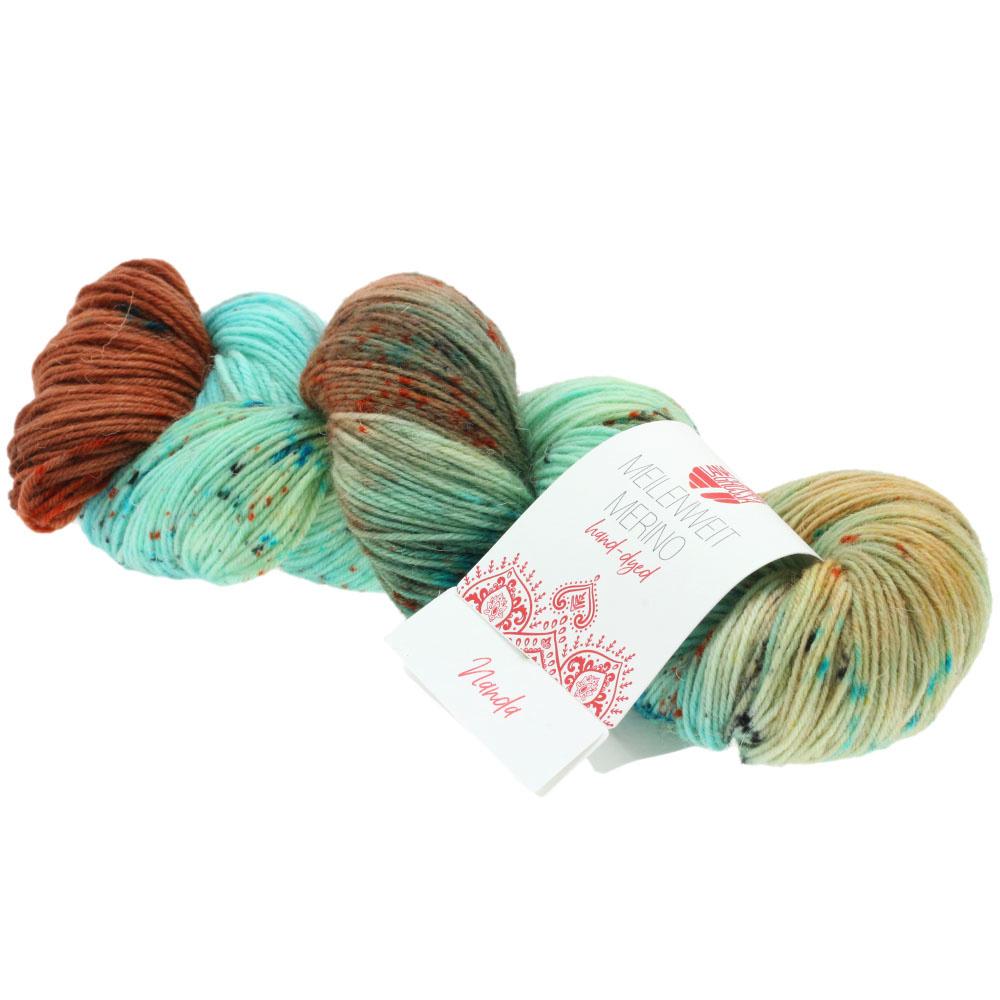 LanaGrossa Meilenweit 100 Hand Dyed - 308 Nanda