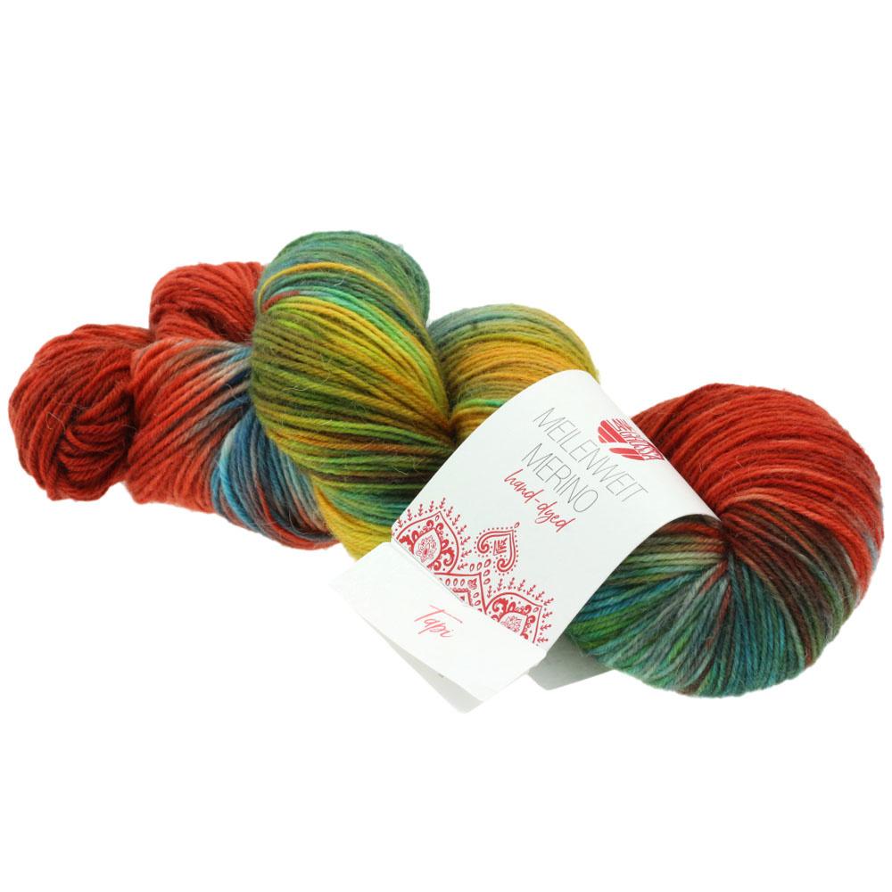 LanaGrossa Meilenweit 100 Hand Dyed - 408 Tapi