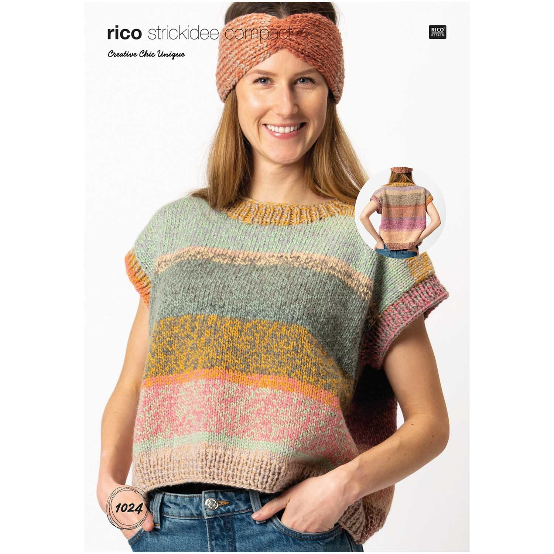 Rico design Pullover Chiq Unique