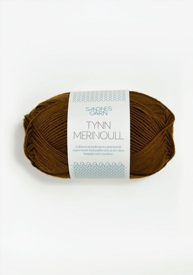 Sandnes Tynn Merino Ull - 2564 - gyllenbrun