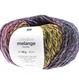 Rico Melange Chunky - 63 - oranje/teal