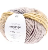 Rico Melange Chunky - 65 - purpleyellow