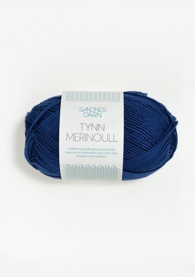 Sandnes Tynn Merino Ull - Nr. 5846 - blå