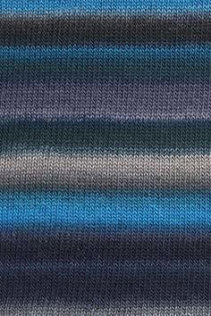 Lang Yarns Mille Colore Baby - 10 - Petrol/Grijs