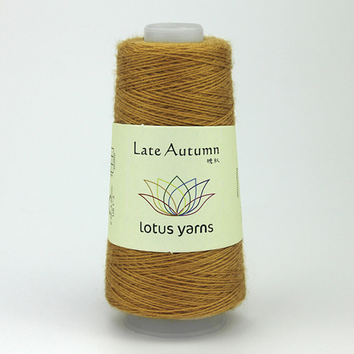 Lotus Yarns Late  Autumn - Nr. 09 -oker
