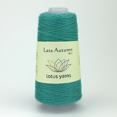 Lotus Yarns Late  Autumn - Nr. 11  - aqua