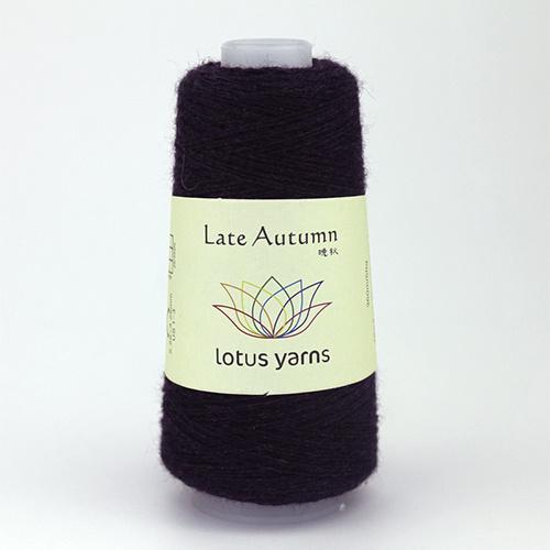 Lotus Yarns Late  Autumn - Nr. 15 - burgund