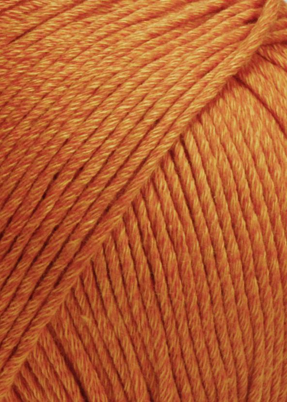 Lang Yarns Soft Cotton - Nr 59 - oranje