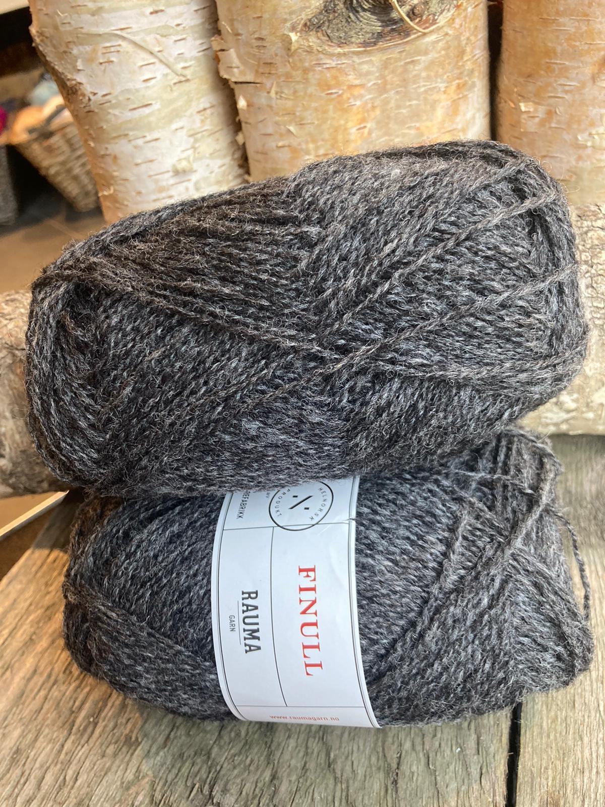Rauma Finull melert - 414 - Koksgrå