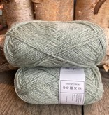 Rauma Finull melert - 4136 - Mintgrønn Lysmelert