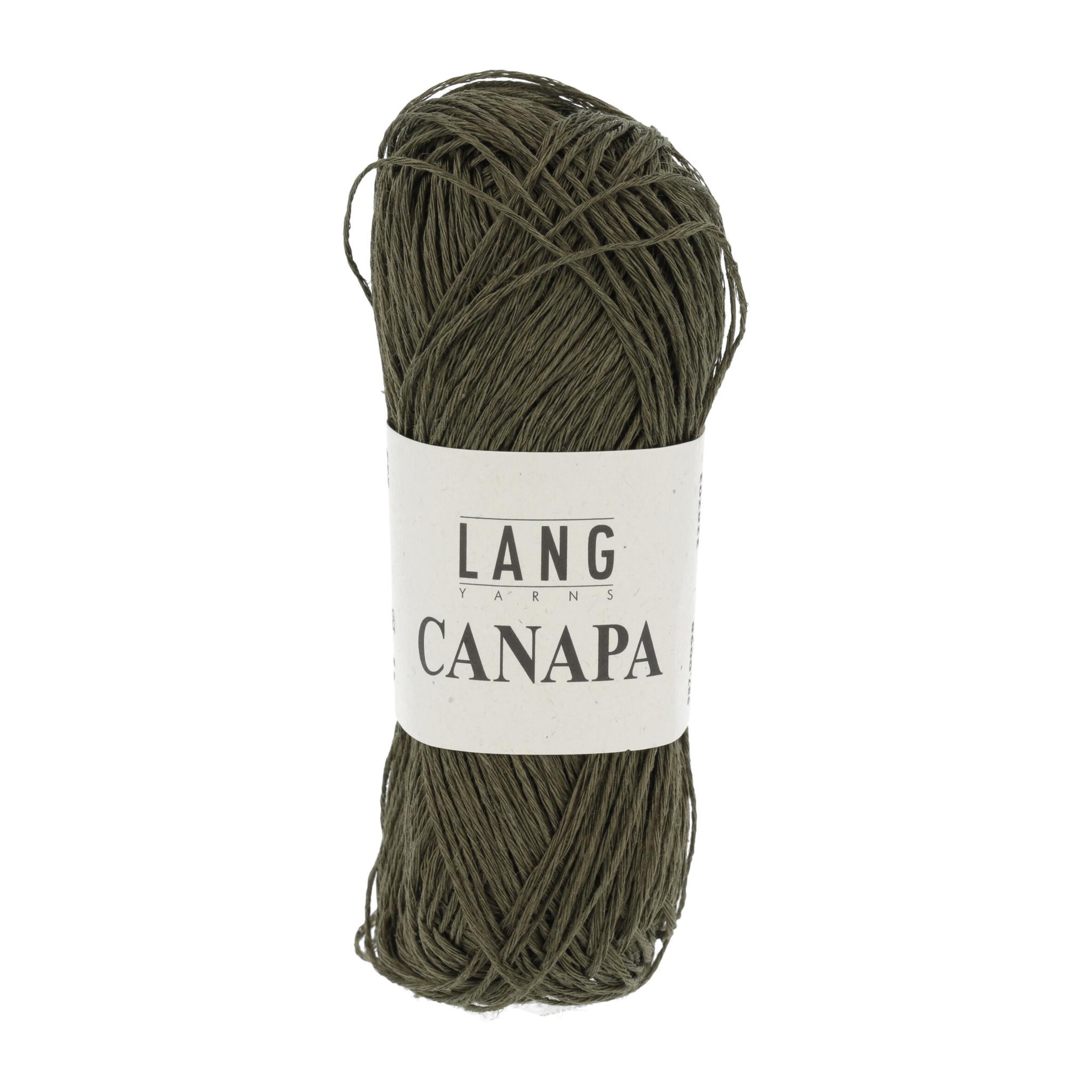 Lang Yarns Canapa - 098 - Mosgroen