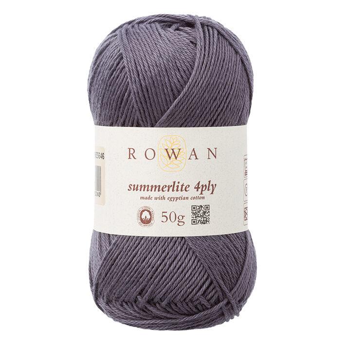 Rowan Summerlite 4 Ply - 446 - Anhor Grey