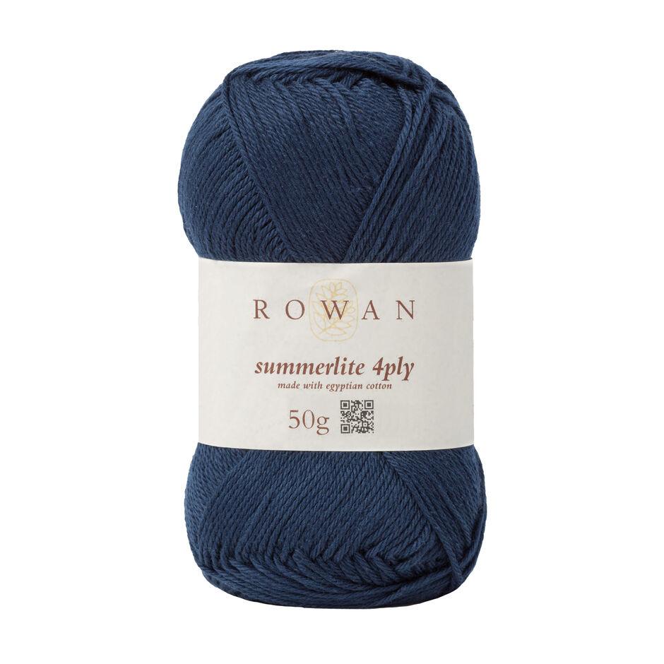 Rowan Summerlite 4 Ply - 429 - Navy Ink