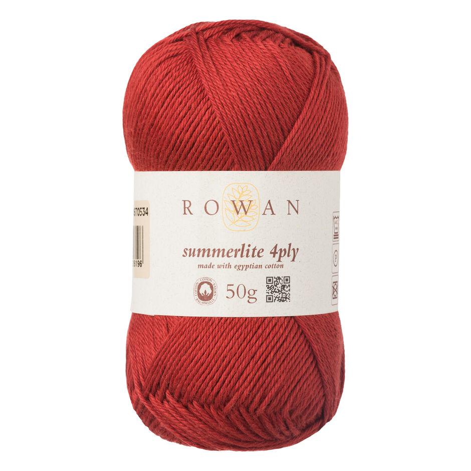 Rowan Summerlite 4 Ply - 441 - Rooibos