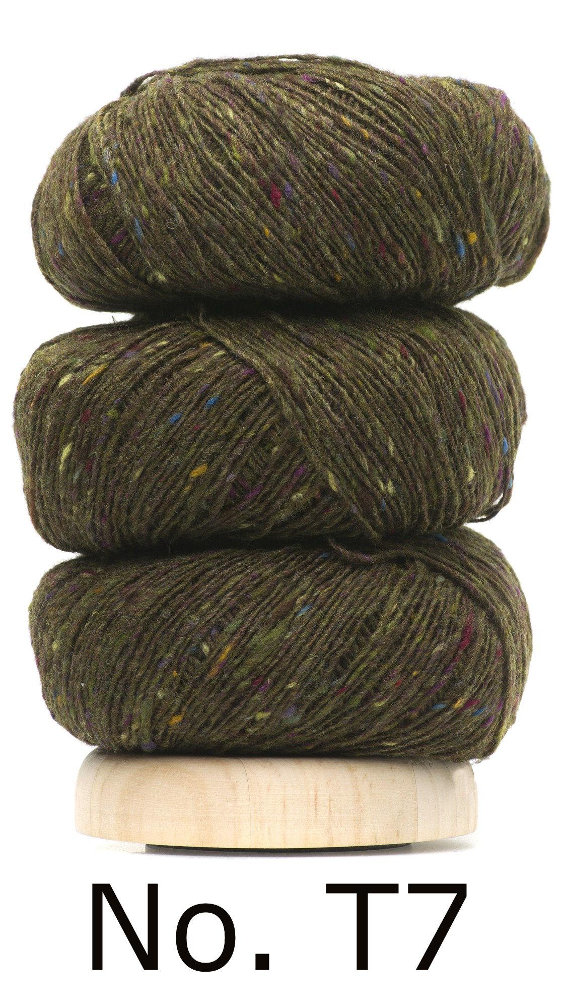 Geilsk Geilsk Tweed - 007 - Khaki gron