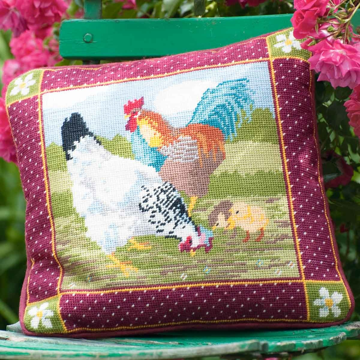Ehrman Farmyard Hens