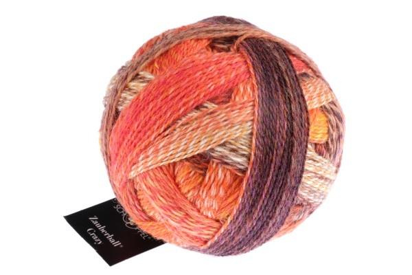 Schoppel Wolle Zauberball Crazy - 2472 - Orangerie