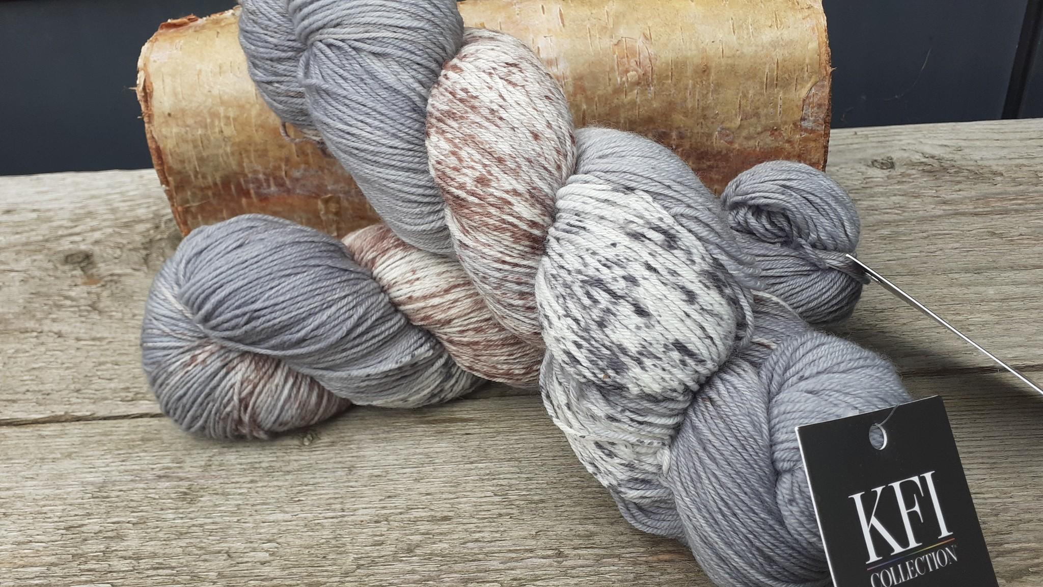 Knitting Fever Indulgance FIngering Handdyed - 01 - Fort de Pierre