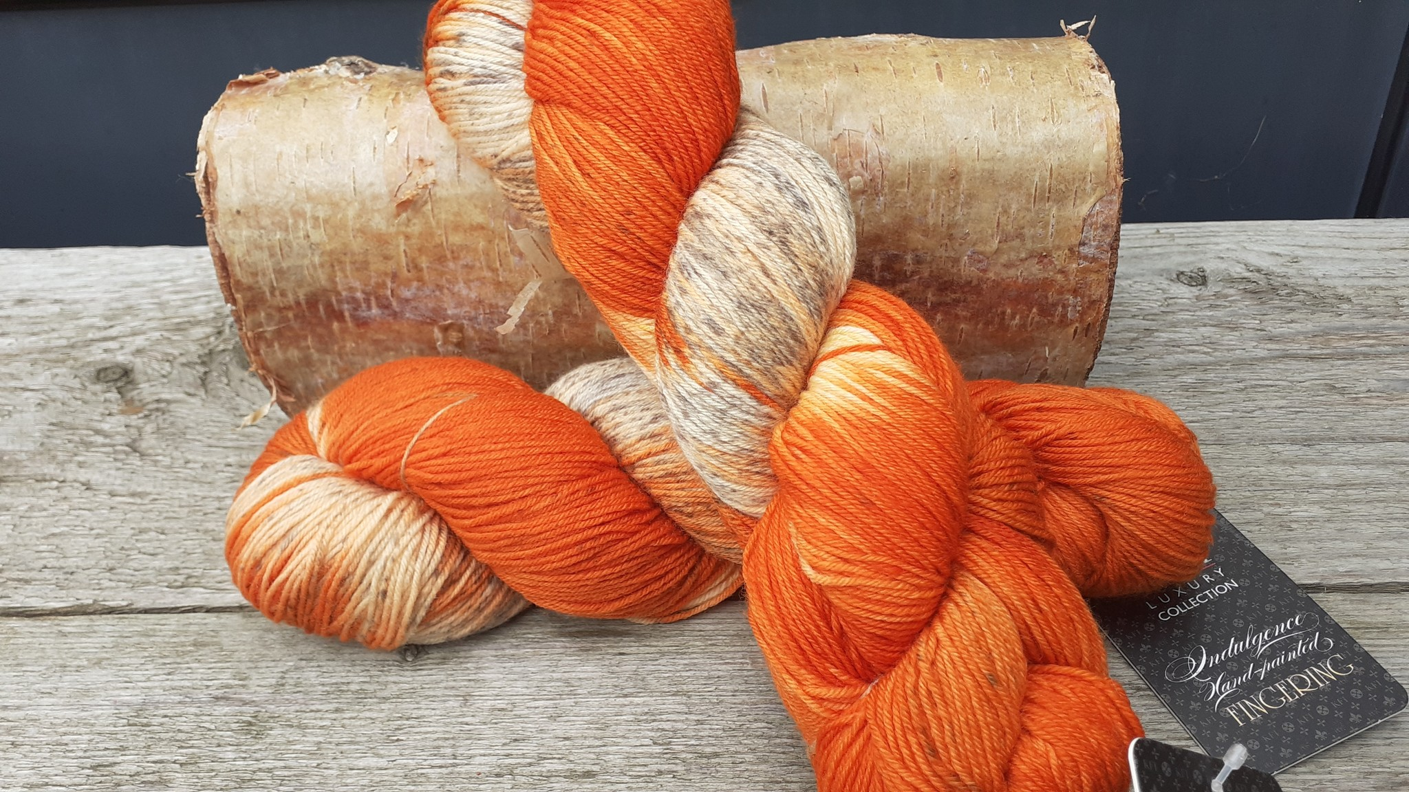 Knitting Fever Indulgance FIngering Handdyed - 06 - Versailles