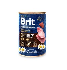 Brit Brit Can Turkey with Liver 400 gram