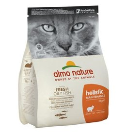 Almo Nature Almo Nature Kat Holistic Droogvoer Vette Vis 2kg
