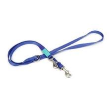 Beeztees nylon dressuurlijn uni, blauw. 200 cm x 20 mm.