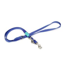 Beeztees Beeztees nylon dressuurlijn uni, blauw. 200 cm x 20 mm.
