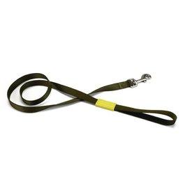 Beeztees Beeztees nylon looplijn uni. Licht groen. 120 cm x 10 mm.