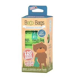 Beco Bags Mint - Multi Pack - 120 poepzakjes (8 x 15)