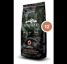 Riverwood Adult Large Breed Free Run Duck, Turkey & Pheasant 12kg
