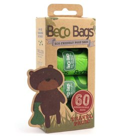 Beco Bags Beco Bags - Travel Pack - 60 poepzakjes (4 x 15)
