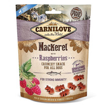 Carnilove Crunchy Snack Mackerel with Raspberries 200 gram