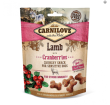 Carnilove Crunchy Snack Lamb with Cranberries 200 gram