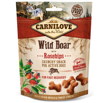 Carnilove Crunchy Snack Wild Boar with Rosehips 200 gram