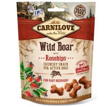 Crunchy Snack Wild Boar with Rosehips 200 gram