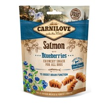 Carnilove Crunchy Snack Salmon with Blueberries 200 gram