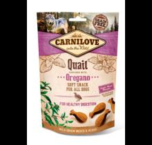 Carnilove Soft Snack Quail with Oregano 200 gram