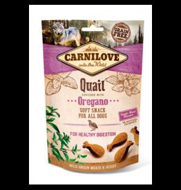 Carnilove Carnilove Soft Snack Kwartel en Oregano 200 gram