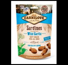 Carnilove Soft Snack Sardines with Wild Garlic 200 gram