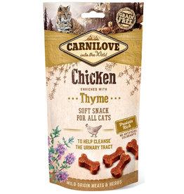 Carnilove Carnilove (kat) Soft Kip met Thijm 50 gram
